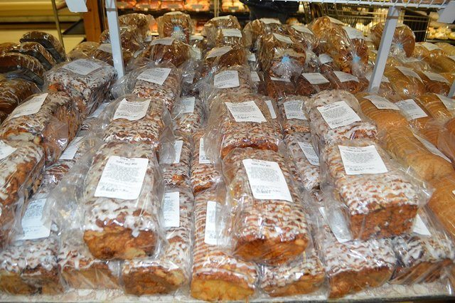variety of fresh breads