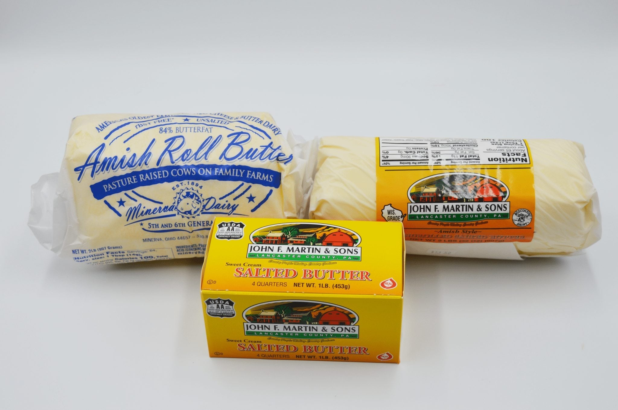 packages of butter