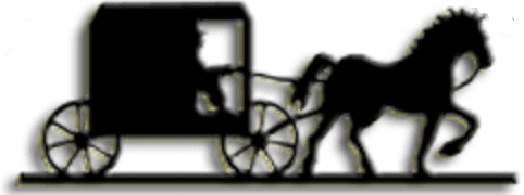 logo of a horse and buggy